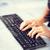 woman hands typing on keyboard stock photo © dolgachov