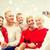 famille · séance · salon · appareil · photo · numérique · souriant · fille - photo stock © dolgachov