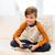salon · jeu · vidéo · famille · enfant · technologie - photo stock © dolgachov