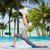 yoga · fitness · vrouw · oefenen · boom · pose · strand - stockfoto © dolgachov