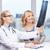 médico · femenino · paciente · espina · habitación - foto stock © dolgachov