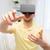 młody · człowiek · faktyczny · rzeczywistość · zestawu · okulary · 3d · technologii - zdjęcia stock © dolgachov