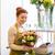 florista · mujer · hombre · para - foto stock © dolgachov
