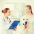 feliz · médico · perdiguero · perro · veterinario · clínica - foto stock © dolgachov