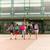 groep · gelukkig · studenten · lopen · primair - stockfoto © dolgachov