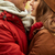 романтические · поцелуй · горло · молодым · человеком · целоваться · красивая · женщина - Сток-фото © dolgachov