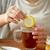 mujer · limón · taza · de · té · salud · tradicional - foto stock © dolgachov