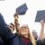 boldog · diákok · integet · oktatás · érettségi · emberek - stock fotó © dolgachov