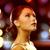 kadın · gece · elbisesi · elmas · küpe · lüks - stok fotoğraf © dolgachov