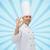 erkek · şef · pişirmek · neden · imzalamak - stok fotoğraf © dolgachov