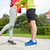 close up of couple in sportswear outdoors stock photo © dolgachov