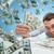 felice · imprenditore · contanti · soldi · ufficio · business - foto d'archivio © dolgachov