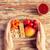 mani · cibo · vegetariano · finestra · dieta - foto d'archivio © dolgachov