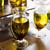 huile · d'olive · transparent · verre · isolé · noir · fruits - photo stock © dolgachov