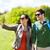 gelukkig · paar · wandelen · buitenshuis · reizen · toerisme - stockfoto © dolgachov