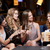 счастливым · друзей · очки · шампанского · клуба · вечеринка - Сток-фото © dolgachov