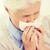 hasta · kıdemli · kadın · burun · üfleme · kâğıt · peçete - stok fotoğraf © dolgachov