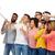 group of people taking selfie by smartphone stock photo © dolgachov