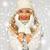 kadın · şapka · eldiveni · kış · insanlar - stok fotoğraf © dolgachov