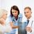 médecins · patient · portrait · Consulting · hôpital · femme - photo stock © dolgachov