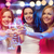 three smiling women with champagne glasses stock photo © dolgachov