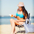 girl sunbathing on the beach chair stock photo © dolgachov