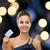 nő · estélyi · ruha · vip · kártya · buli · ünneplés - stock fotó © dolgachov