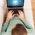 dizüstü · bilgisayar · metin · kabarcık · ekran · teknoloji · Filmi - stok fotoğraf © dolgachov
