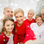 счастливая · семья · домой · семьи · счастье · поколение - Сток-фото © dolgachov