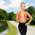 фитнес · инструктор · белок · Shake · бутылку · женщину - Сток-фото © dolgachov