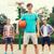 gry · koszykówki · młodych · w · górę - zdjęcia stock © dolgachov