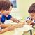 mutlu · sınıf · erkek · Öğrenciler - stok fotoğraf © dolgachov