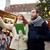 boldog · pár · sétál · táblagép · óváros · ünnepek - stock fotó © dolgachov