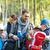 счастливая · семья · лагерь · путешествия · туризма · поход · женщину - Сток-фото © dolgachov