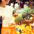 женщину · ананаса · продуктовых · рынке · продажи - Сток-фото © dolgachov