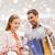 boldog · fiatal · pér · bevásárlószatyor · bevásárlóközpont · vásár · fogyasztói · társadalom - stock fotó © dolgachov
