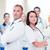 two doctors with stethoscopes stock photo © dolgachov