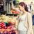 妊婦 · 食品 · 通り · 市場 · 販売 - ストックフォト © dolgachov