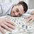 счастливым · бизнесмен · долларов · деньги · мужчин · черный - Сток-фото © dolgachov