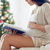 母親 · 座って · 赤ちゃん · ホーム - ストックフォト © dolgachov