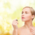 красивая · женщина · косметики · здоровья · красоту · розовый · лице - Сток-фото © dolgachov