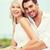 casal · mar · lado · verão · férias · namoro - foto stock © dolgachov