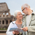senior couple on city street stock photo © dolgachov