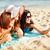девочек · автопортрет · пляж · лет · праздников - Сток-фото © dolgachov
