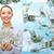asiático · mulher · dinheiro · queda · céu · negócio - foto stock © dolgachov