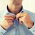 férfi · gombok · póló · üzletember · vőlegény · reggel - stock fotó © dolgachov