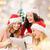 groupe · femmes · blanche · sexy · heureux - photo stock © dolgachov