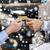 customer giving credit card to car dealer in salon stock photo © dolgachov