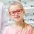 oculista · menina · escolher · óculos · ótica · armazenar - foto stock © dolgachov