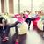 gelukkige · mensen · abdominaal · spieren · fitness · sport · opleiding - stockfoto © dolgachov